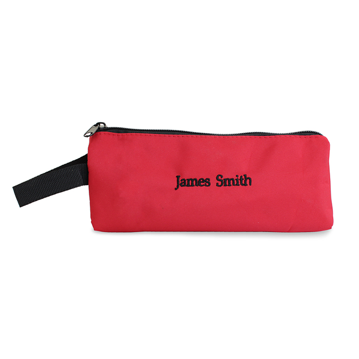 Personalised Back to School Pencil case - Red