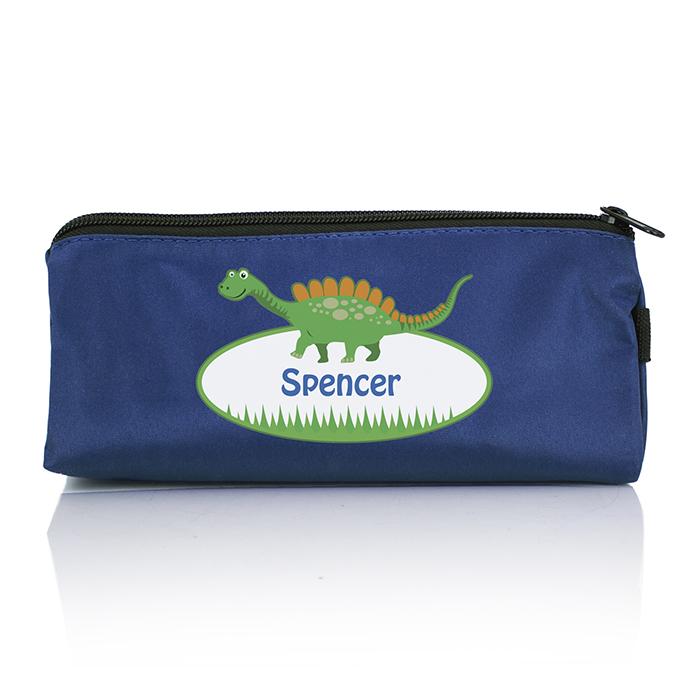 Personalised Back to School Pencil Case - Dinosaur
