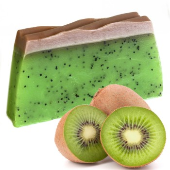 Handmade Kiwifruit Soap - Tropical Paradise Soap
