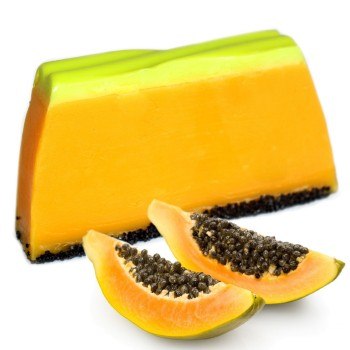 Handmade Papaya Soap - Tropical Paradise Soap
