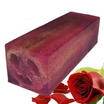 Rough & Ready Rose Loofah Soap