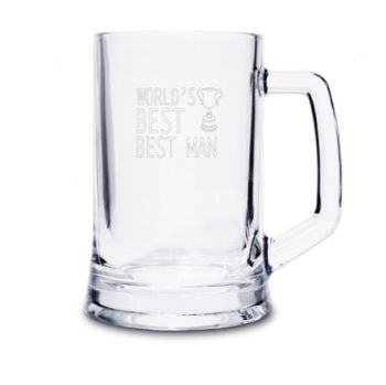 WORLD'S BEST MAN TANKARD