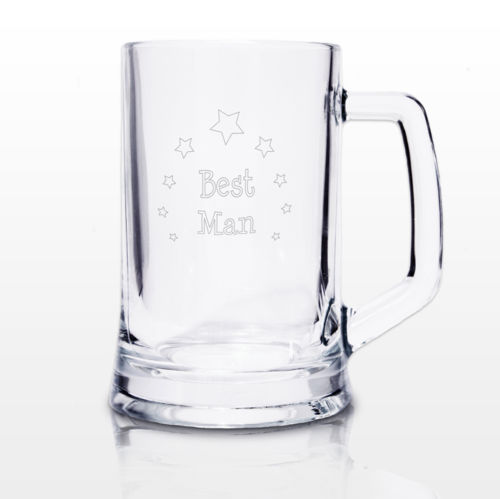 BEST MAN TANKARD