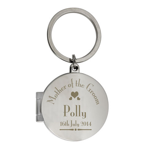Personalised Mother of the Groom Photo Keyring