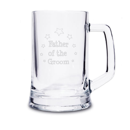Father of the Groom Tankard