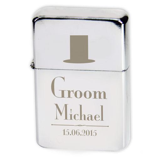 Personalised Groom Lighter