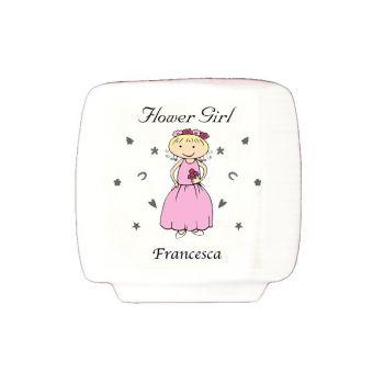 Personalised Flower Girl Money Box