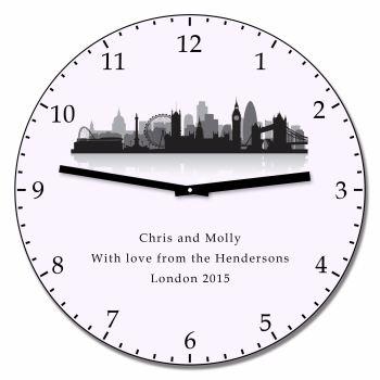 Personalised LONDON Wall Clock
