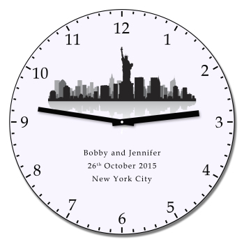 Personalised NEW YORK Wall Clock
