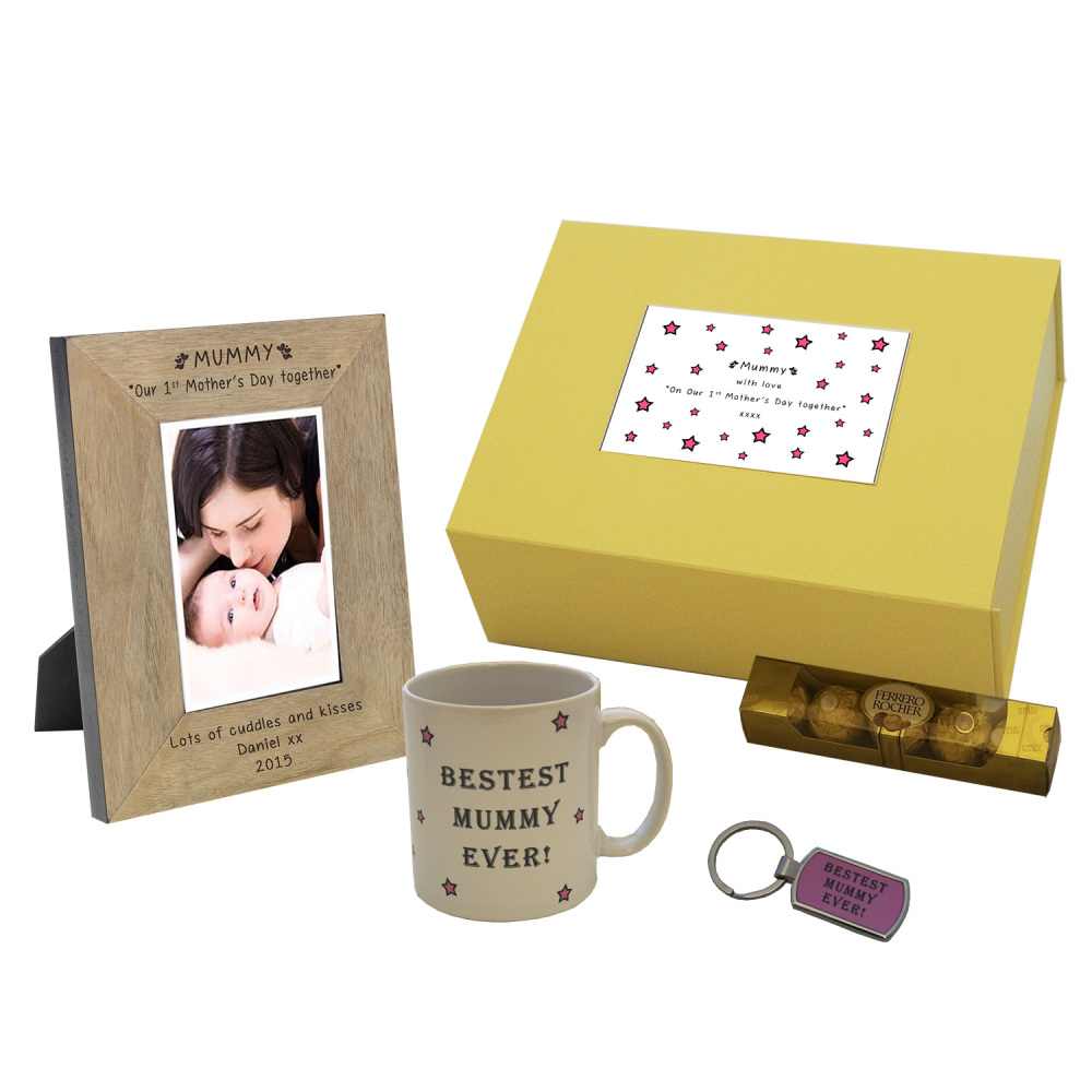Personalised Our 1st Mother's Day Together Gift Box