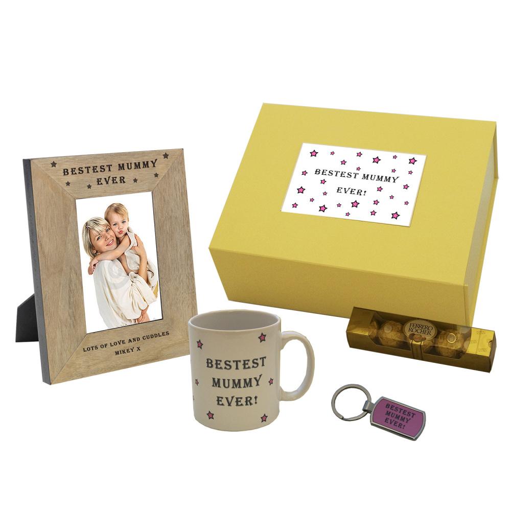 Personalised Bestest Mummy Ever Gift Box