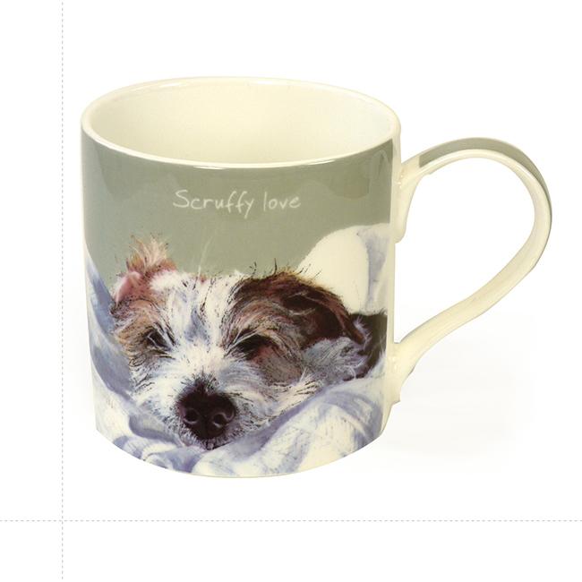 Wire Hair Jack Russell Dog Mug – Scruffy Love