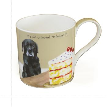 Fine Bone China Dog Mug ? Criminal