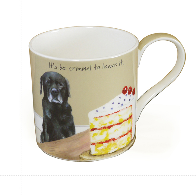 Fine Bone China Dog Mug – Criminal
