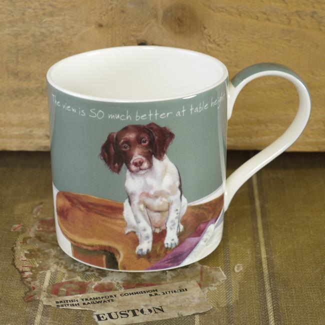 Fine Bone China Dog Mug – Coffee Table