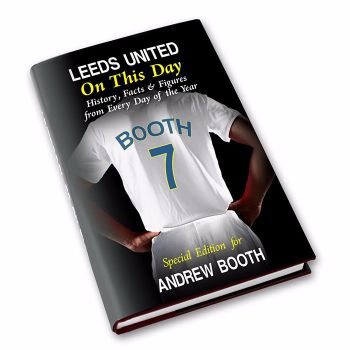 Personalised Leeds United on this Day Football Book