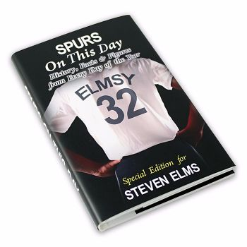 Personalised Spurs on this Day Football Book