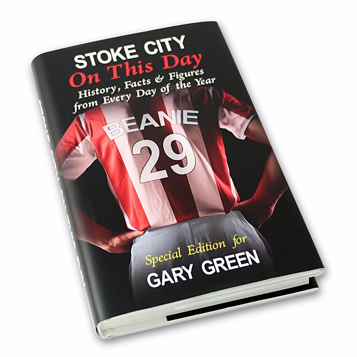 Personalised Stoke City on this Day Football Book