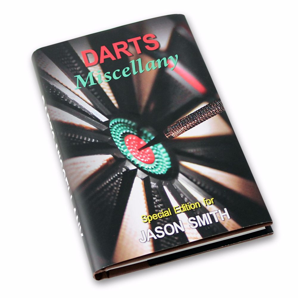 Personalised Darts Miscellany Book