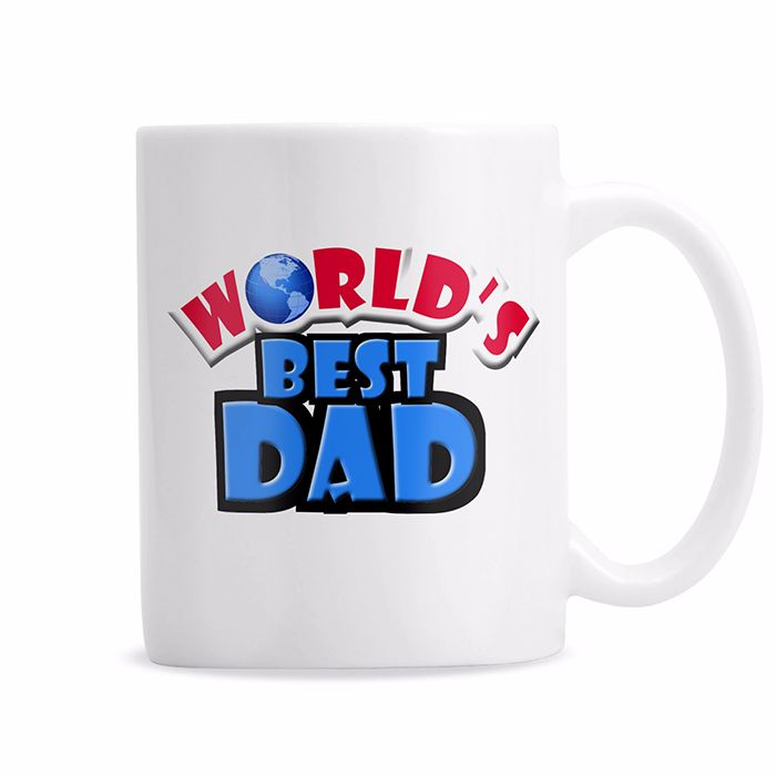 Personalised World's Best Mug