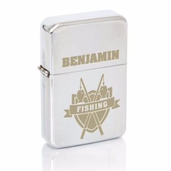 Personalised Fishing Fan Lighter