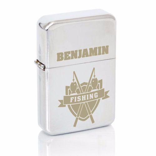 Personalised Fishing Fan Lighter