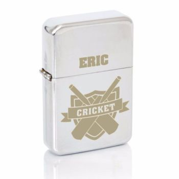 Personalised Cricket Fan Lighter