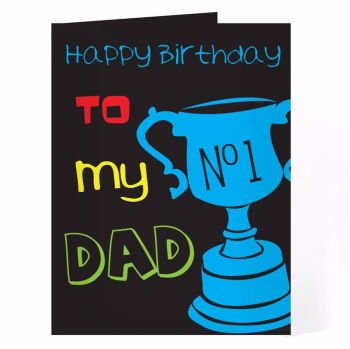 Personalised No.1 Card