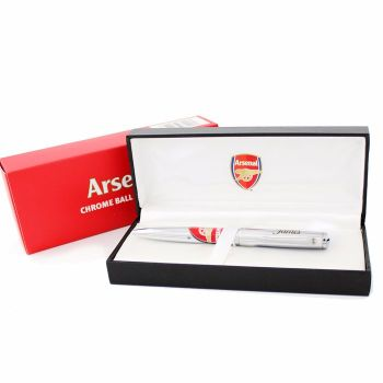 Personalised Arsenal Pen with Gift Box