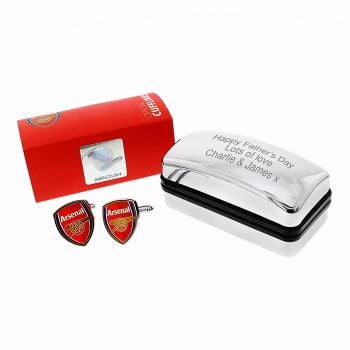 Arsenal Cufflinks with Gift Box
