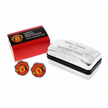 Personalised Manchester United Cufflinks with Gift Box