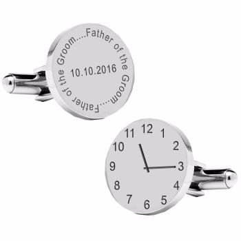 Father of the Groom..special time cufflinks