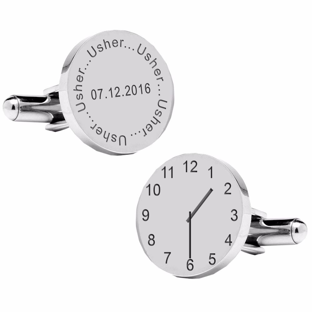 Usher..special time cufflinks