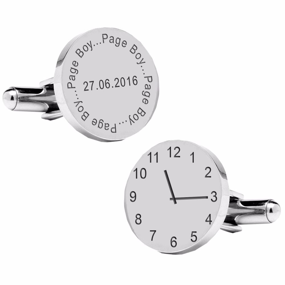 Page Boy..special time cufflinks