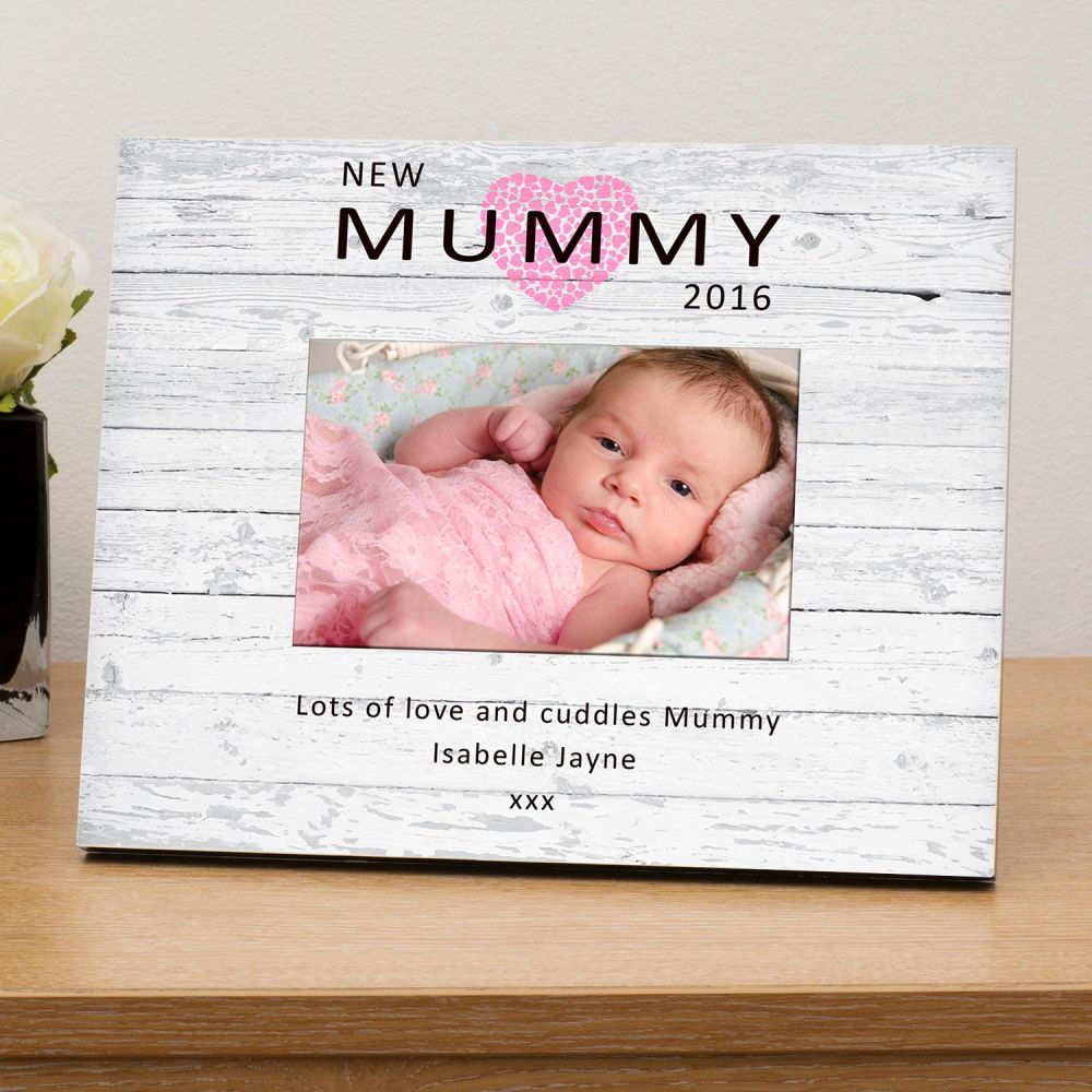 Personalised NEW MUMMY Photo Frames, Picture Frames, Frames for ...