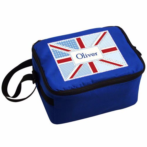 Personalised Insulated Lunch Bag - Union Jack Theme