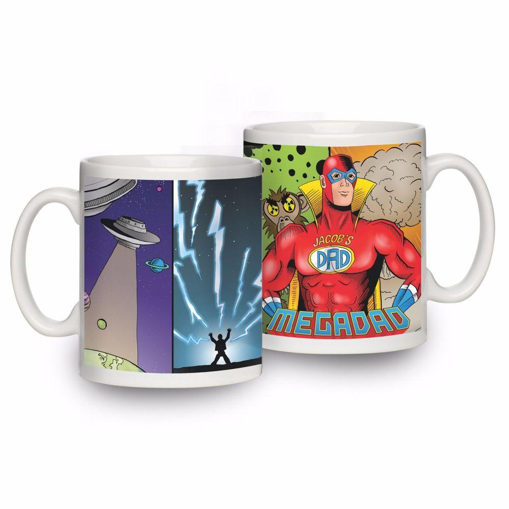 Personalised Megadad Mug