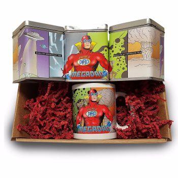 Personalised Tea Lovers Set - Mega Dad Design