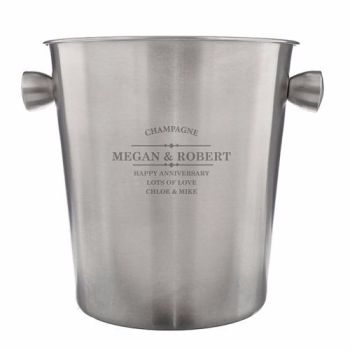 Personalised Ice Bucket