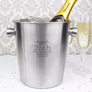 Personalised Number Ice Bucket