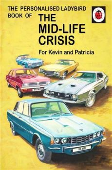 Personalised Ladybird Book HOW IT WORKS MID-LIFE CRISIS for HER Adult Humour Book