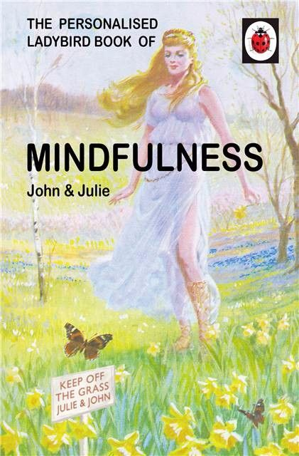 Personalised Ladybird Book HOW IT WORKS - MINDFULNESS for THEM Adult Humour