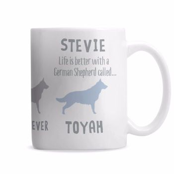 Personalised GERMAN SHEPHERD Mug