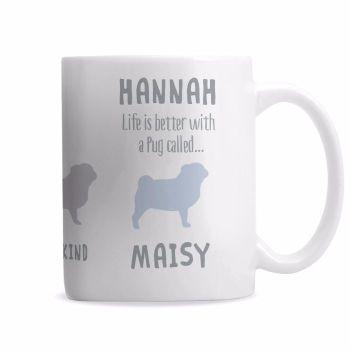 Personalised PUG Mug