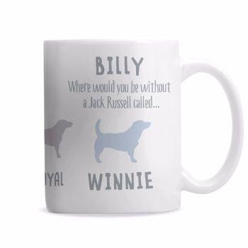 Personalised JACK RUSSELL Mug