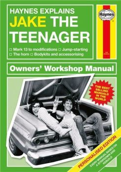 Personalised HAYNES EXPLAINS TEENAGERS Book - Funny look at Teenagers, Parents