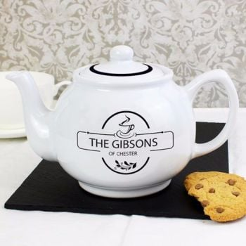 Personalised LOVE Teapot