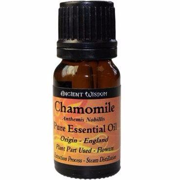 10ml Chamomille Roman Pure Essential Oil - Inc FREE P&P