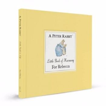 Personalised Witty Boxed PETER RABBIT Little Guide to Harmony, Beatrix Potter Gift