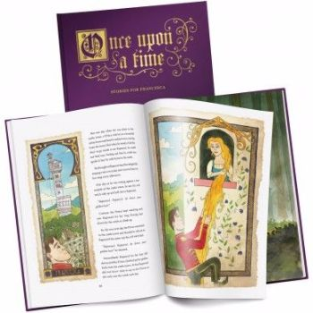 Personalised Once Upon a Time: A Timeless Collection of Fairy Tales - A4 Size